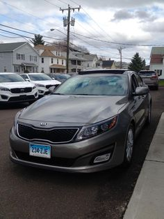 Candy David picked up this awesome new 2015 Optima EX premium last night! It's a big step up from your last Kia. We're so happy that you love the new car so much! Congratulations from John and all of your friends at Gary Rome Kia! Please visit us online 24/7 at www.garyromekia.com or call (860) 253-4753