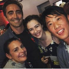 Lee Pace at the season 4 wrap party
