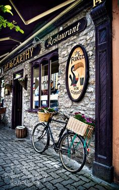 irish pubs- obviously, i wouldnt go in, but its great scenery