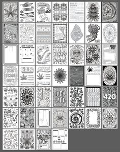 Color Me Cannabis The Marijuana Themed Coloring Book For Reefers MMJ Users And Stoners