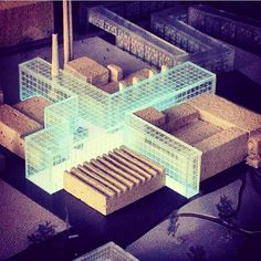 建築系必看的300個超細緻建築模型三之一   Foot Work︱ 走思客設計圖誌