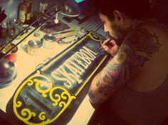Hand Painted Signs by Caetano , this is cool, gotta have Noah help me make one for his room !