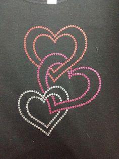 Glitter HTV cut as rhinestone file--cheaper rhinestone and looks neat Hand Embroidery Designs, Beaded Embroidery, Embroidery Stitches, Embroidery Patterns, Dot Art Painting, Mandala Painting, Fabric Painting, Glitter Phone Wallpaper, Rhinestone Art