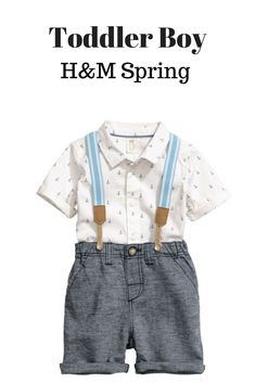 Toddler Boy H&M Spring #fashion #ad