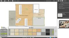RoomSketcher software materials feature Kitchen Design Software, Interior Design Software, House Design, Architecture Design, House Plans, Home Design, Design Homes