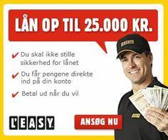 #Leasy er det ubetinget det mest brugte lån i Danmark. Leasy har igennem mange år været kendt for at have gode låneforhold samt en masse gode lånemuligheder hos deres koncern. Det er ligeledes det mest benyttede lån hos Låne siden, og vi har altid haft et godt samarbejde med Leasy.