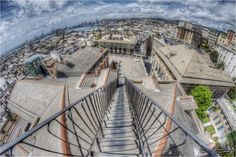 """Genoa from the top of the terrace of """"Palazzo Rosso"""""""