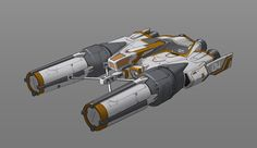 ArtStation - Spaceship-04, CHENGCHUN LIU