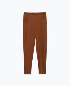 Image 6 of LOOSE-FIT TROUSERS from Zara