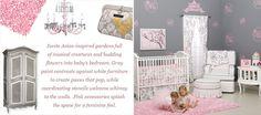 Cherry Blossom Baby Nursery