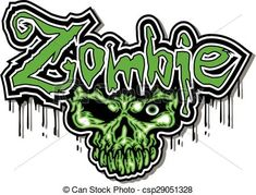 Vector - zombie design - stock illustration, royalty free illustrations, stock clip art icon, stock clipart icons, logo, line art, EPS picture, pictures, graphic, graphics, drawing, drawings, vector image, artwork, EPS vector art
