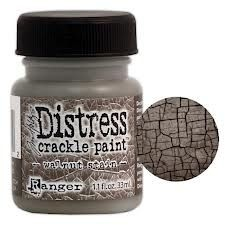 RANGER: TIM HOLTZ - DISTRESS CRACKLE PAINT -WALNUT STAIN   http://www.kreativscrapping.no/categories/tim-holtz-distress-crackle-paint