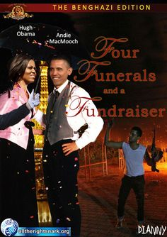 the O's  movie '4 funerals and a fundraiser'... HOW APPROPRIATE!