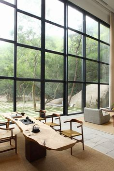 Xu Fu-Min offers a peaceful retreat in the countryside | source