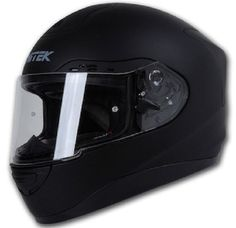 Nitek N123  Street Racer P1 Flat Black Full Face Motorcycle Helmet #Nitek #Motorcycle Airsoft Mask, Airsoft Guns, Motorcycle Helmets For Sale, Tactical Helmet, Half Face Mask, Black Flats, Street, Masks, Black Flats Shoes