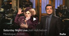 SNL Videos: Josh Hutcherson Pokes Fun at Peeta, Dates a Turkey