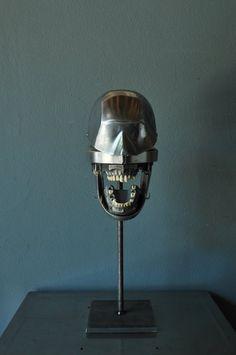 Alumnal Orthodontic Head with 1940's Metal Teeth