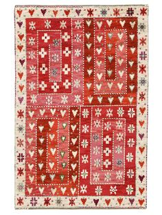 Märta Måås-Fjetterström creates some of the finest rugs and tapestries in the world, handwoven at the studio in Båstad, Sweden by artisan weavers since Textiles, Textile Patterns, Textile Texture, Textile Fiber Art, Rya Rug, Rug Hooking, Rugs On Carpet, Decoration, Pattern Design