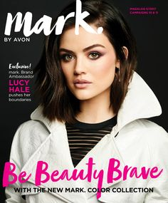 Mark by Avon C10-11 catalog.  Re-launch of makeup.  Hook up magnetic palettes, gunmetal cases, customizable eye shadows.