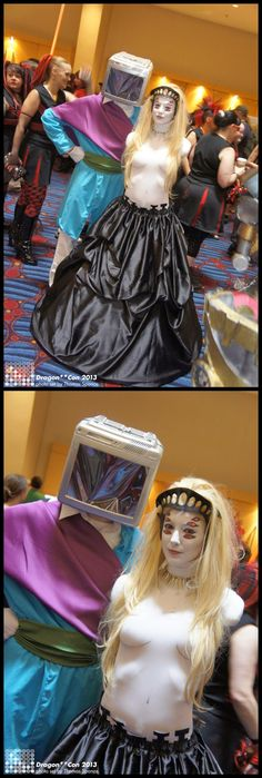 Prince Robot the IV and The Stalk (Saga) #Cosplay | D*Con 2013