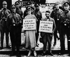 """»Ich bin am Ort das größte Schwein und laß mich nur mit Juden ein!«  »Ich nehm als Judenjunge immer nur deutsche Mädchen mit aufs Zimmer!«    """"Race defilement,"""" Cuxhaven, 1933"""
