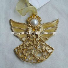 Handmade Gold Chirstmas Angel Ornament(p120149d2) - Buy Handmade Angel Ornaments,Christmas Angel Ornament,Gold Christmas Ornament Product on...