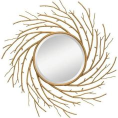 Buy the Kichler 78214 Antique Gold Direct. Shop for the Kichler 78214 Antique Gold Kayla Round Sunburst Mirror - x and save. Big Wall Mirrors, Black Wall Mirror, Rustic Wall Mirrors, Contemporary Wall Mirrors, Round Wall Mirror, Round Mirrors, Mirror Mirror, Modern Wall, Modern Contemporary