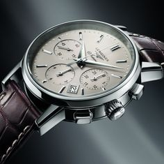 Longines Watch Co. ‏@Longines  For The #Longines Column-Wheel Chronograph, priority has been given to classical and refined elegance. #EleganceisanAttitude