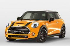 Bloody Orange Mini Cooper!