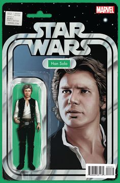 Star Wars #2 Action Figure Variant Cover by John Tyler Christopher
