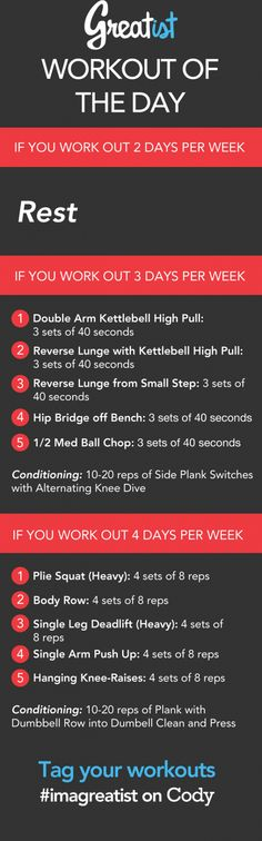 Try out our daily #workout routines to challenge yourself to something new. Get in your best shape now! Tag your workouts #rippednfit #wod #fitness