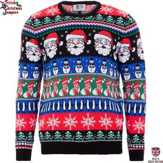 Christmas Sparkle Mens Christmas Sweater by British Christmas Jumpers Large ** Visit the image link more details. Mens Christmas Jumper, Best Christmas Jumpers, Diy Christmas Gifts For Boyfriend, Xmas Jumpers, Diy Holiday Gifts, Christmas Gifts For Friends, Christmas Sweaters, Handmade Christmas, Christmas Clothes