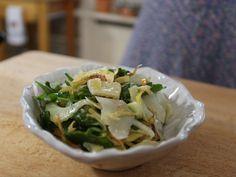 Artichoke and Fennel Crudo recipe from Giada De Laurentiis via Food Network Giada Recipes, Top Recipes, Salad Recipes, Cooking Recipes, Healthy Recipes, Fennel Recipes, Giada De Laurentiis, Artichoke Salad, Cooking Beets