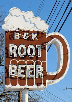 So many memories of root beer floats growing up... *Cuyahoga Falls, OH*