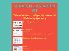 Scratch 2.0 Starter Kit #programming #edtech #kidscancode #stem