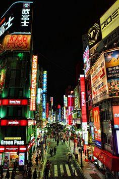 Shinjuku, Tokyo, Japan 新宿 東京