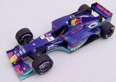 F1 Paper Model - 2000 Sauber C19 Paper Car Free Template Download