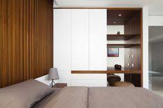 lovely application of wood panelling, Indochina Villas Saigon, MIA Design Studio