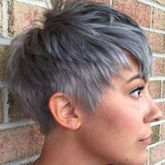 edgy shaggy messy spiky choppy pixie cut