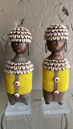 Namji Dolls 25cm. African Dolls, African Masks, Who Is An Entrepreneur, Global Art, Beadwork, Objects, Ceramics, Inspiration, Pintura