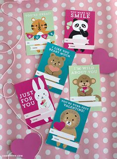 Freebie | Printable Kids Valentine's Day Cards