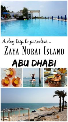 PIN FOR LATER: A Day Trip to The Paradise of Zaya Nurai Island, Abu Dhabi. This island is such a dream and when you're there you would never guess you were in the Middle East, and so close to the huge cities of Dubai and Abu Dhabi!