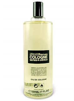 Comme des Garcons 125ml Vettiveru. Notes: vetiver, bergamot, neroli, white cedar. Masterfully blended, Vettiveru is perfectly balanced and surprisingly deep for a cologne, and an absolute must for all lovers of vetiver. It opens with a citrusy bergamot and the soft green of vetiver. Once it settles, it drifts in and out of being a light, dry woody scent (white cedar) and a wonderfully verdant and clean vetiver.