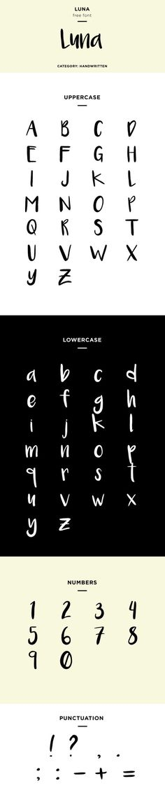 luna font family download free
