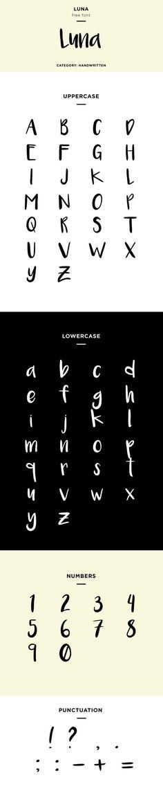 luna font family download free