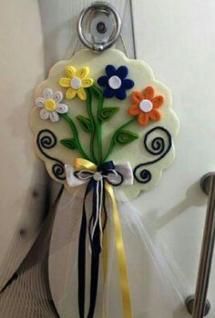 Keçe kapi susu flowers