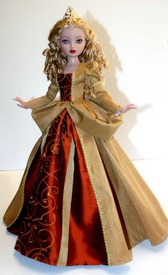 """Princess Outfit for 16"""" Ellowyne Wilde Dolls Tonner #DesignsbyJude"""