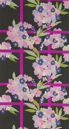 Begonia or Treillage French, designed by Atelier Martine, for Paul Poiret, c. 1925 Hand block printed linen 160 x 74cms