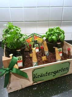 Funny Gift Ideas For Men Beautiful Herb Garden As Gift Herbs . - Funny gift ideas for men beautiful herb garden as a gift herb garden for men – birthday gifts car - Garden Birthday, Man Birthday, Xmas Gifts, Diy Gifts, Culture D'herbes, Cadeau Surprise, Birthday Gift Cards, Raised Garden Beds, Raised Beds