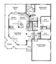 house plans home plans and floor plans from ultimate plans 1506 sq ft - Plans For Houses